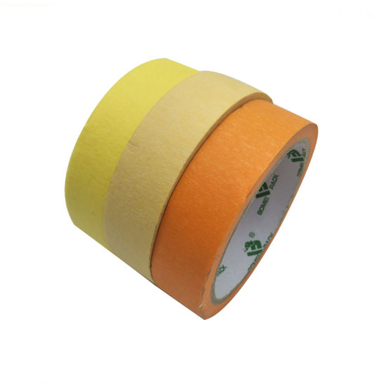 Colored Masking Tape Widely Used in The Baking Process in Automobile Industry and Hardware Industry
