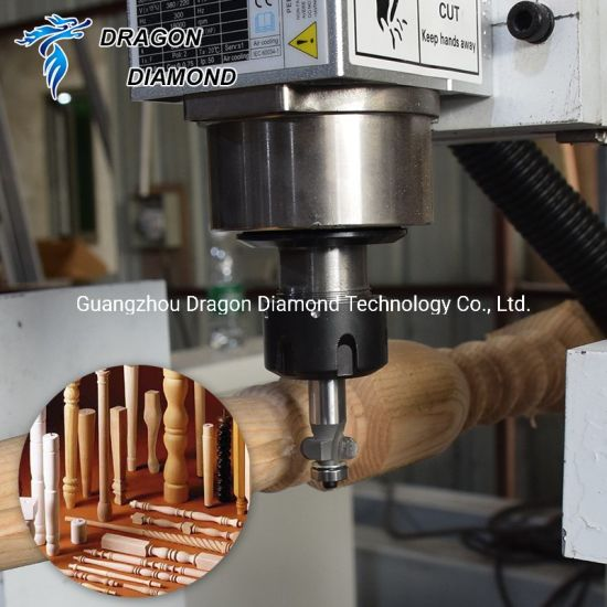 1516 Woodworking Rotary Cutting Engraving Lathe CNC Machine for Home Decoration pictures & photos