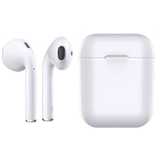 China V4 2 Stereo Wireless Earbuds Earphone With Charger Dock Bluetooth Headset For Iphone X Xr Max 7 8 Plus China Bluetooth Headset For Iphone And Wiressless Bluetooth Earphone Price
