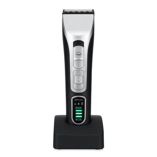 Wholesale Professional Rechargeable Long Using Time 5 LED Lights Barber Hair Clipper