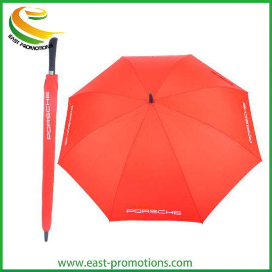 Wholesale High Quality Golf Umbrella Straight Umbrella with Long Handle for Car Gifts
