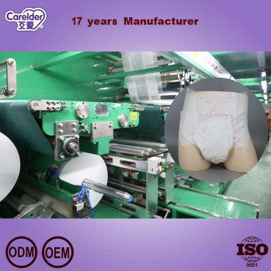 2020 Carelder Medical Velcro Breathable Soft Incontinence Disposable Adult Diaper