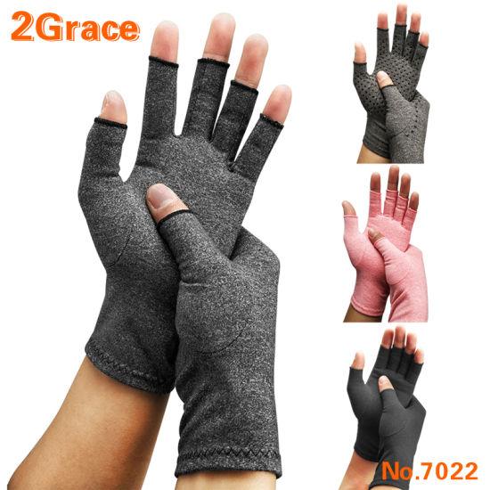 Cotton Lycra Compression Arthritis Glove for Pain Relief