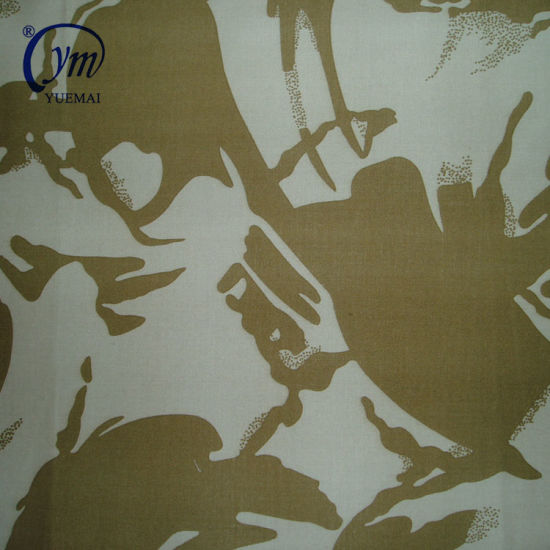 OEM Factory Supply Coated Waterproof Ripstop Military Camouflage Printing Fabric