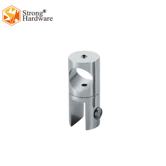 China Supplier Zinc Alloy/SS304/Brass Casting Shower Room Tube Glass Connector