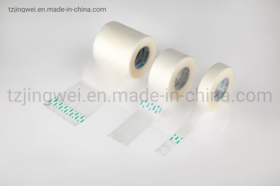 Medical Tansparent and Breathable Surgical Adhesive PE Tape