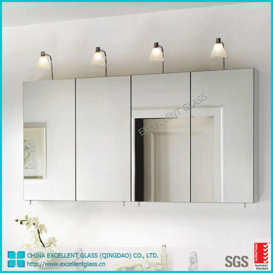 Clear Copper Free Mirror/ Ultra Clear Silver Mirror Glass Factory Customized Wholesale Frameless Silver Mirror for Home Decoration
