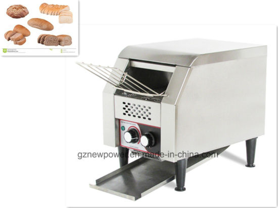 hamburger bread toaster cordless bun commercial product conveyor electric detail