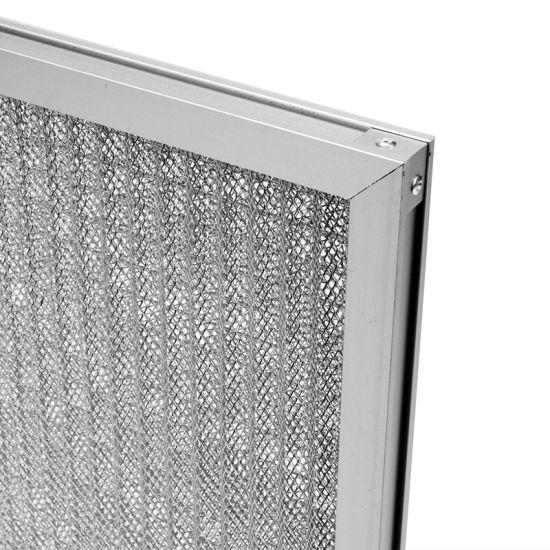 Commercial Hvac Pre Filter Kitchen Hood Washable Aluminum Metal Mesh Filter