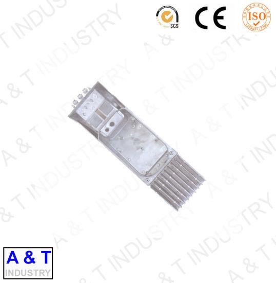 OEM Precision Aluminum Die Casting Street Lighting Parts Street Lighting Cover Metal Lamp Cover