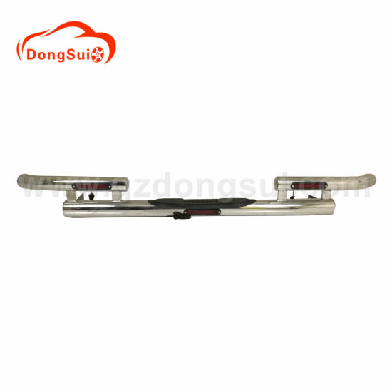 Stainless Steel Rear Bumper for Pickup Truck