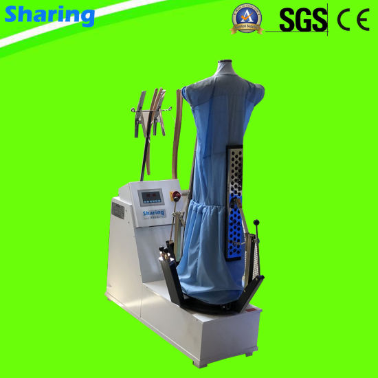 Form Finisher for Suits, Shirts in Laundry Shop and Hotel