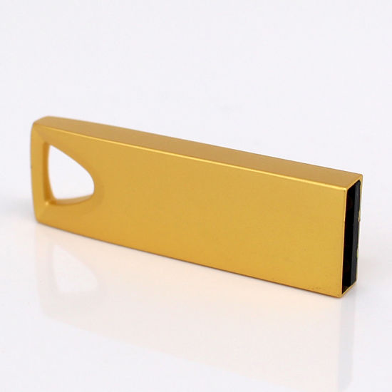 Metal USB Key Flash Disk with Customized Logo (UL-M020) pictures & photos