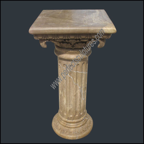 Roman Classic Hand Carved Natural Stone Square Column (QCM241)