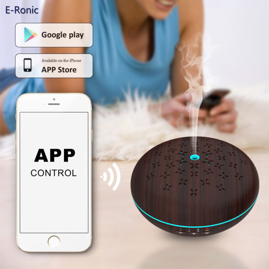 WiFi APP Control / Amazon Alexa Voice Control Essential Oil Diffuser with Google Home pictures & photos