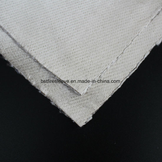 40oz Fire-Proof Heat Resistant Vermiculite Coated Fiberglass Woven Cloth pictures & photos