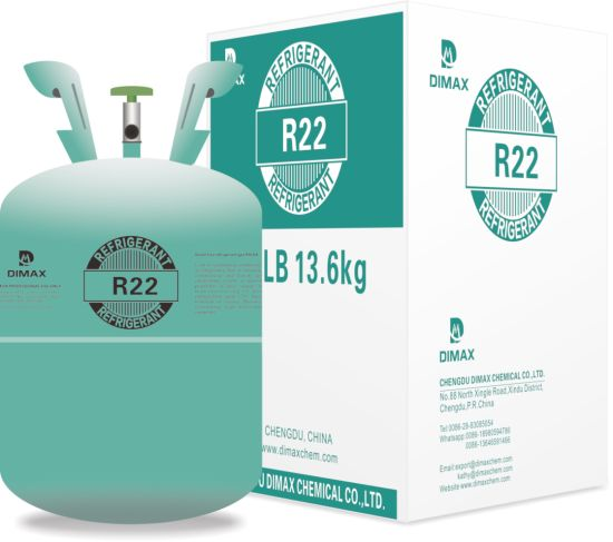 China Factory Direct Sale Freon R22 in Disposable 13 6kg