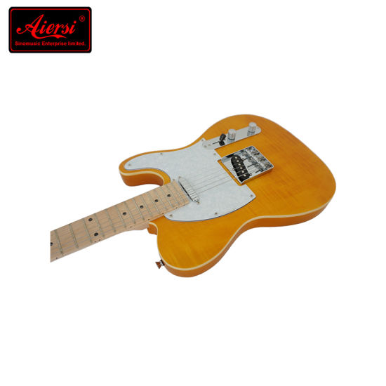 Aiersi Guitar Factory Colorful Cheap Tl Electric Guitar pictures & photos