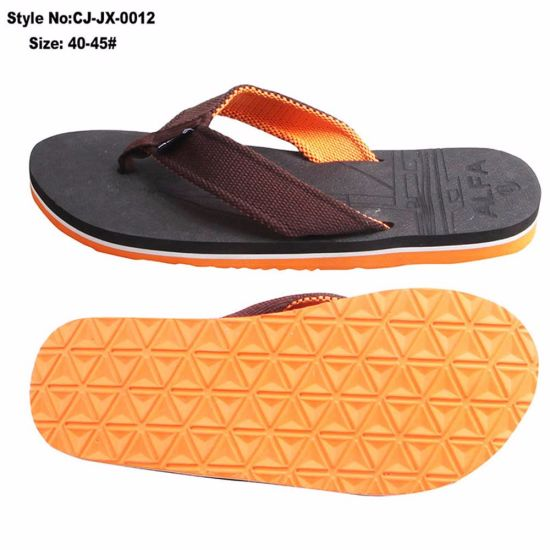 85830e119 China New Summer Wholesale Flip-Flop for Man - China Slipper