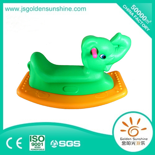 Indoor Playground Children's Rocking Toy Rocking Horse with Ce/ISO Certificate