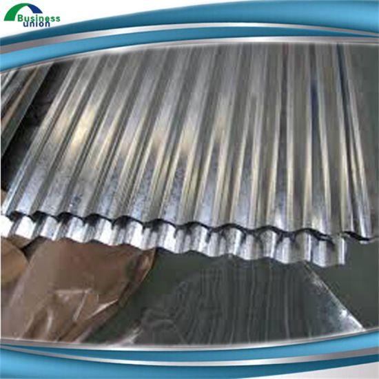 China Aluminium Zinc Metal Roofing Corrugated Sheet