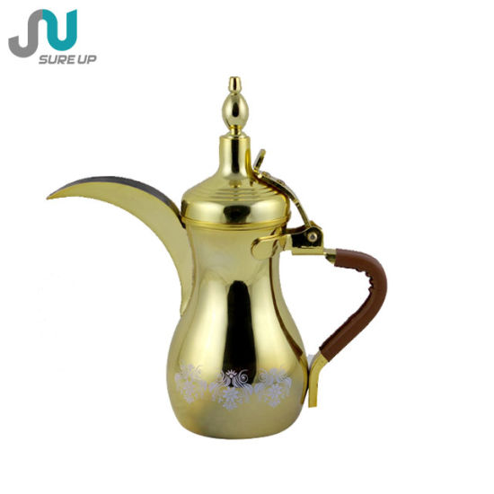 Double Wall Dallah Stainless Steel Coffee Jug pictures & photos