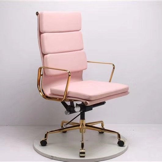 High Back Swivel Leather Eames Office Chair