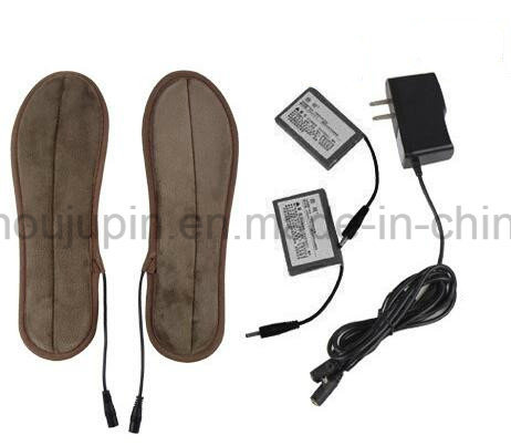 OEM Electric Chargeable Washable Warming Warm Shoes Insole pictures & photos