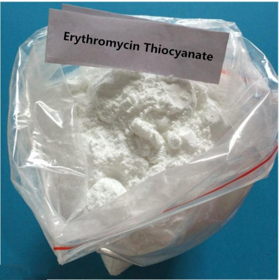 99% Purity of Erythromycin Thiocyanate Powder for Anti-Infective 7704-67-8 pictures & photos