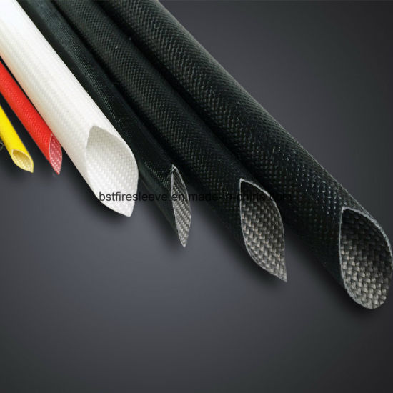 Heat-Treated Electrical Insulation Acrylic Resin Coated Fiberglass Sleeving pictures & photos