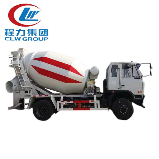 Dongfeng 6X4 Heavy Duty 8cbm 10cbm Concrete Mixer Truck pictures & photos