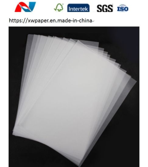 White Transparent Plotter Tracing Paper 40-180GSM for Inkjet Printing