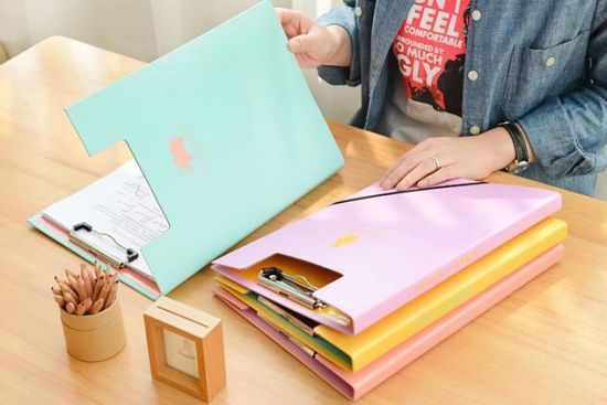 Stationery Paper Ring Binder with Printed Cover Filing Folder pictures & photos