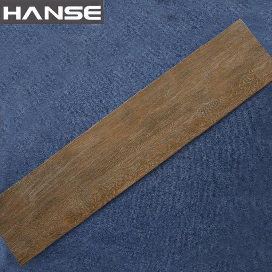 China Wood Vitrified Wooden Effect Ceramics Flooring Tile China