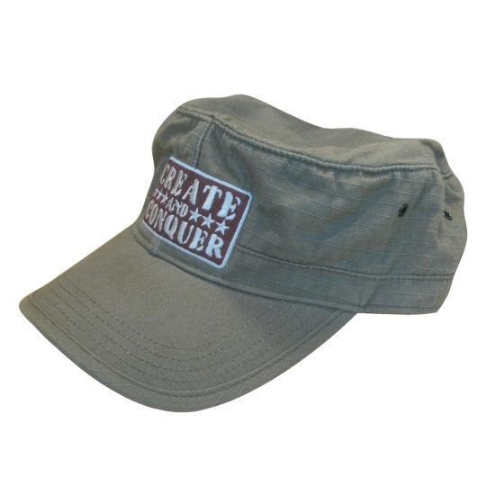 Custom Fabric Color Logo Army Cap Military Hat
