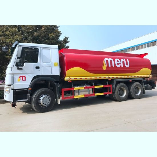 Hot Sale HOWO Series Petrol Tanker Truck with 371HP Engine and 22-30cbm M3 Oil Tank Volume pictures & photos