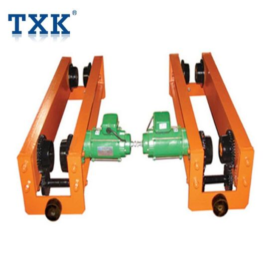 Low Headroom Suspension Crane End Carriage Manufacturer pictures & photos