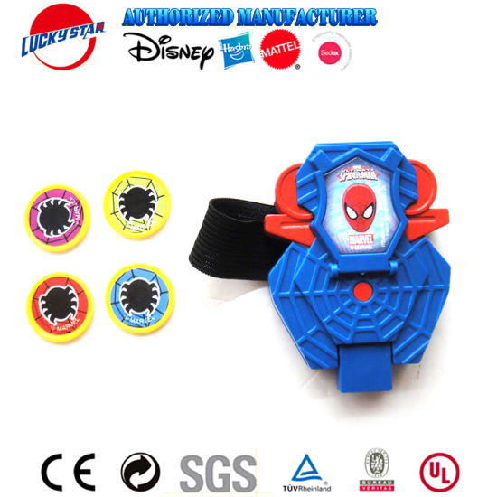 Spider Man Wrist Shooter with Disc Vending Toy for Kids