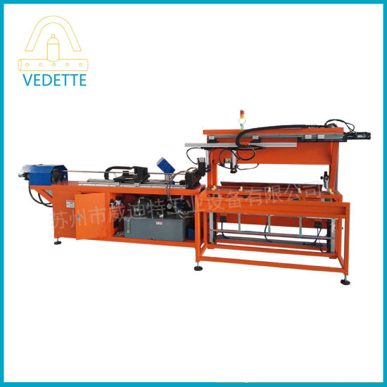 CNC Copper Flute Tube Punching Machine for Air Conditioner and Refrigerator
