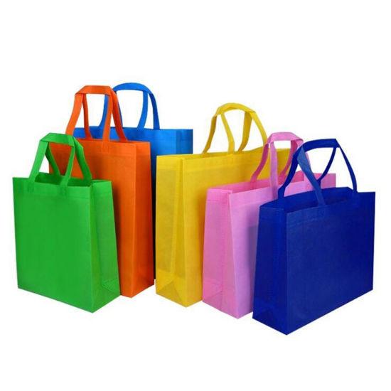 Wholesale Reusable Ecological Non Woven Bag with Cmyk Print
