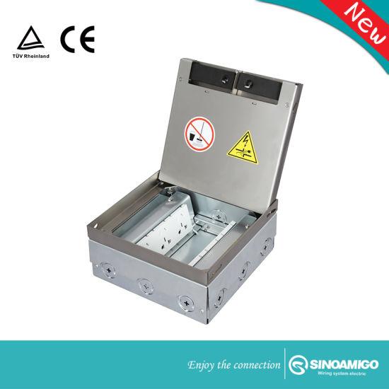 Sinoamigo High Capacity Multifunction Ground Heavy Socket Floor Box