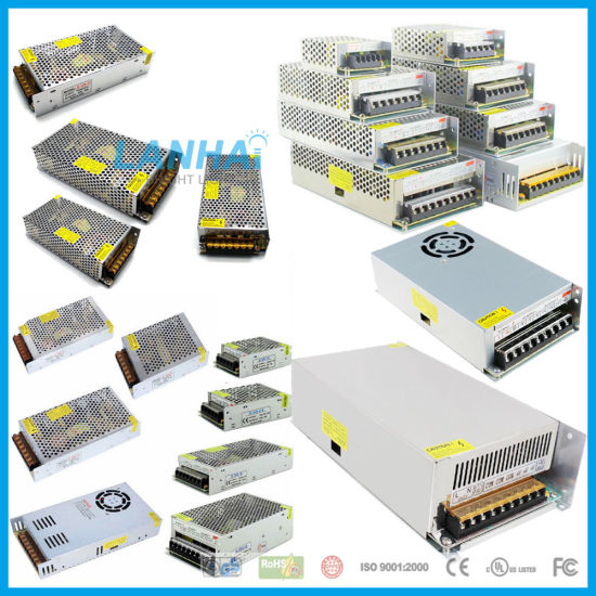 AC110V/220V to DC12V/24V/5V/36V/48V 1A/2A/5A/10A/15A/20A/25A/30A/40A/50A Adapter 10W/40W/60W/100W/150W/200W/300W/400W/500W/600W LED Driver Switch Power Supply pictures & photos