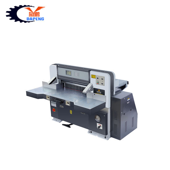 Hot Sales Factory Hydraulic Cutting Width 78 Cm Electric Guillotine, 28 Inch Paper Cutting Machine (QZYK780D-7)