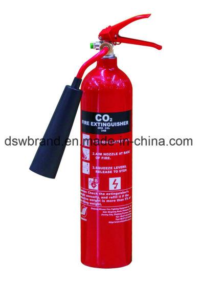 Portable CO2 Fire Extinguisher Aluminium-Alloy En3-7 2kg