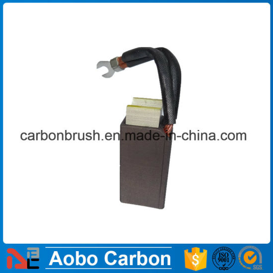 Copper Carbon Brush J213 for Synchronous Machines
