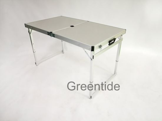 Outdoor Garden Folding Table MDF Table Top Camping Picnic Portable  Accessories 1.2m