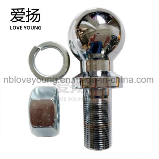 Trailer Hitch Ball Sizes >> China 50mm Of Ball Size 3 5t Chromed Plated Towing Parts Trailer