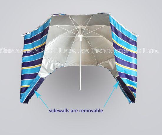 Quality Aluminum Beach Fishing Umbrella with UV Protection (OCT-AUNUVS01)