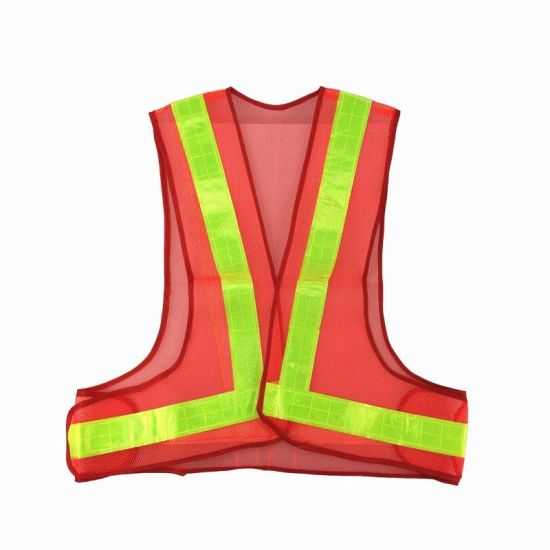 100% Polyester Safety Reflective Vest for Protection