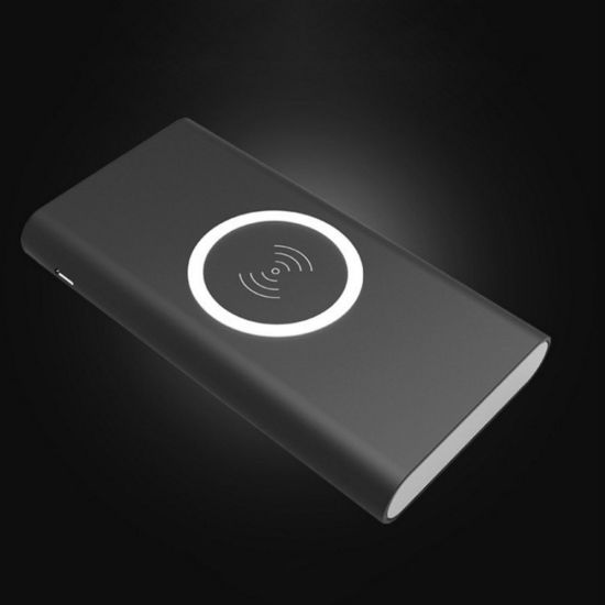Qi Wireless Charger Mobile Phone Power Bank 8000mAh Wireless Battery pictures & photos